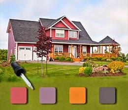 Couleurs de maison ext rieur for Choisir couleur maison exterieur