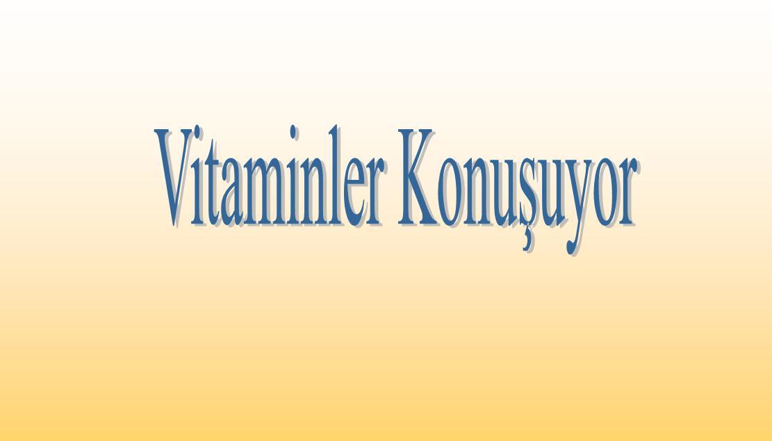 Yağda çözünen vitaminler, suda çözünen vitaminler slayt
