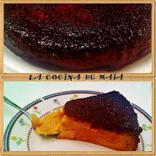 Pudin de Dulce de Leche c/ Peras
