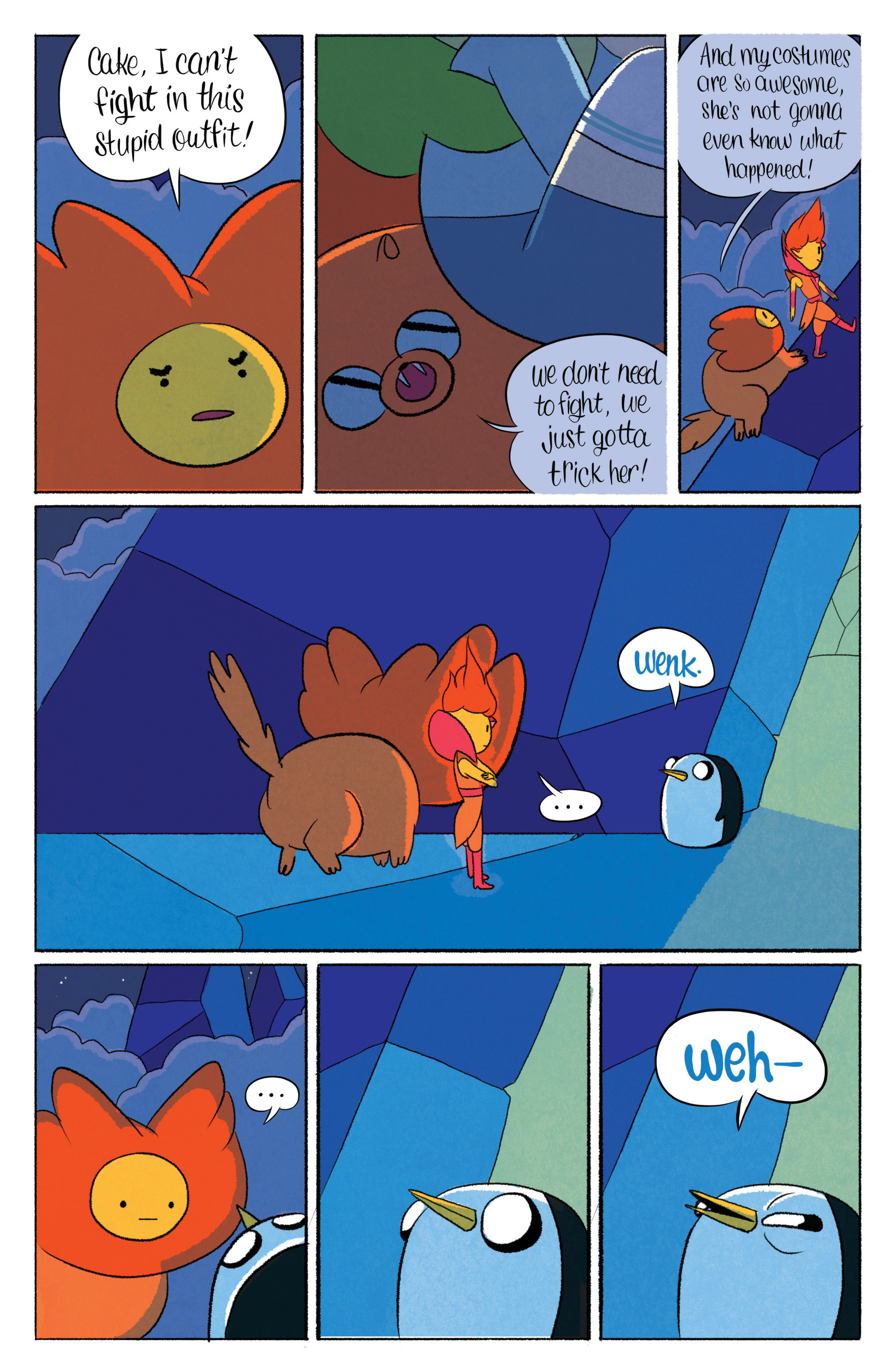 Read online Adventure Time with Fionna & Cake comic -  Issue #5 - 14