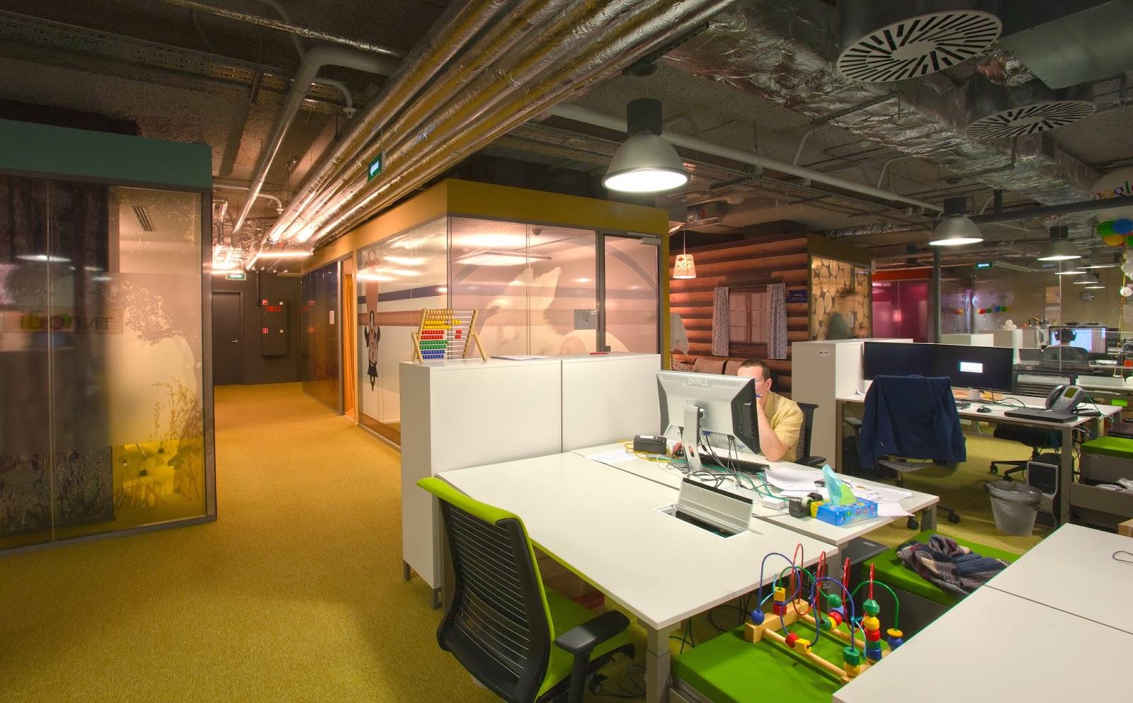 google moscow office. Google Moscow Office