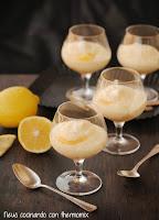 Copa de tiramisú de lemon curd