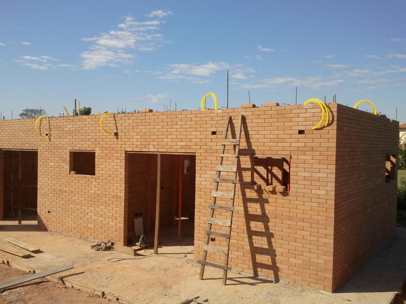 Construindo e Ampliando com Tijolo Solo cimento / Ecológico: Laje 1 #956F36 1600x1200 Banheiro Com Tijolo Ecologico