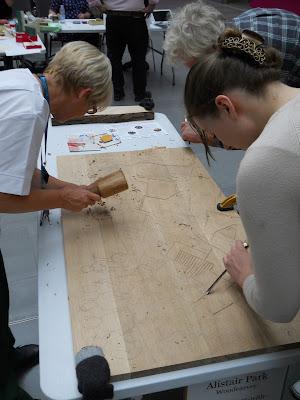 southmead hospital woodcarving