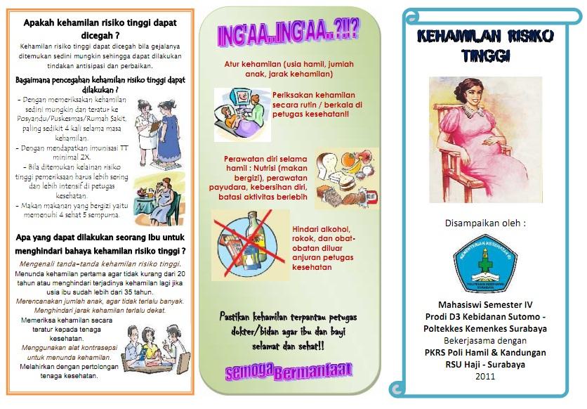 Kumpulan Materi Kebidanan: SAP dan Leaflet Kehamilan ...