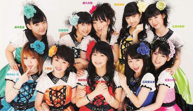 Morning Musume wallpaper