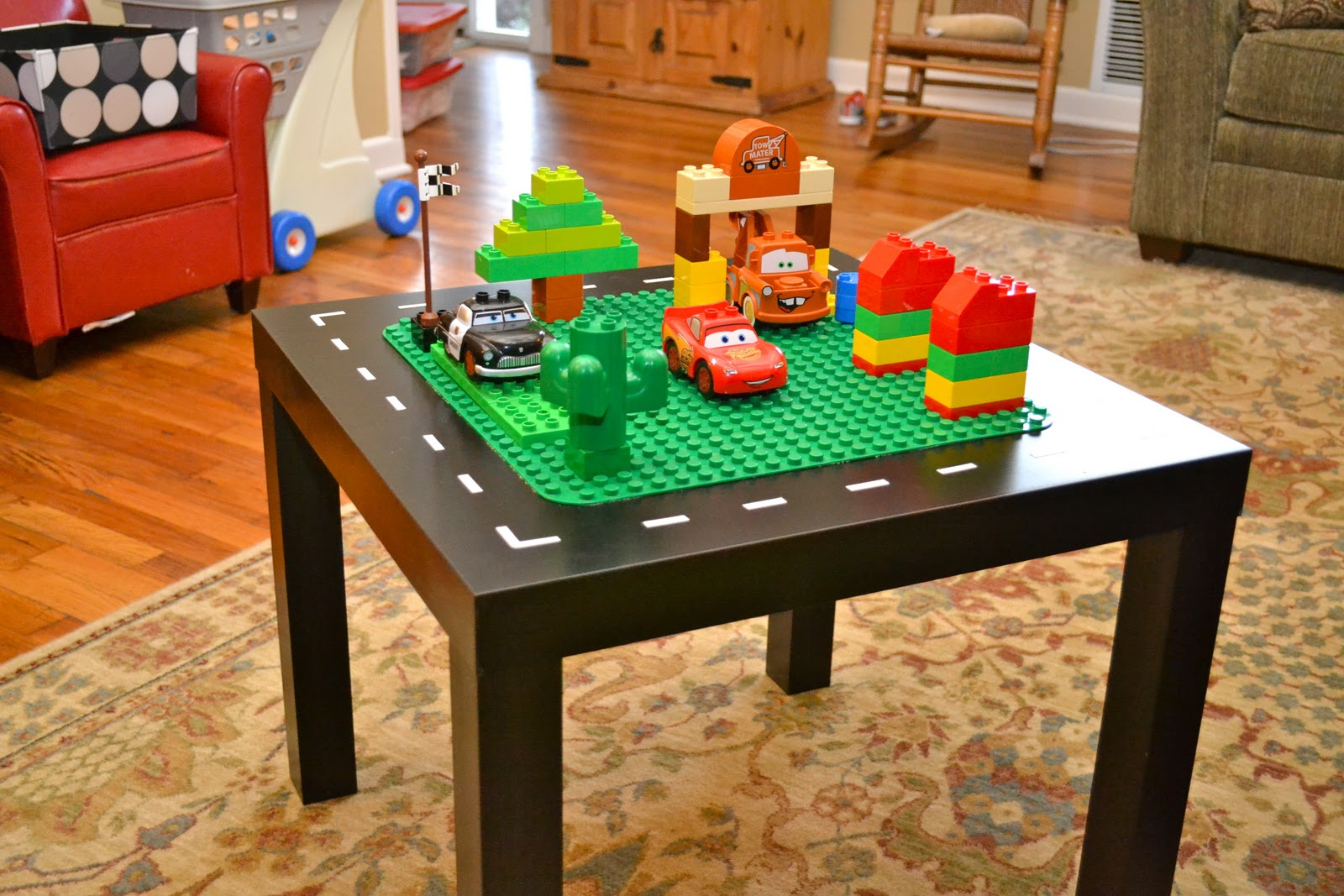 Decided to make it a lego table cole loves