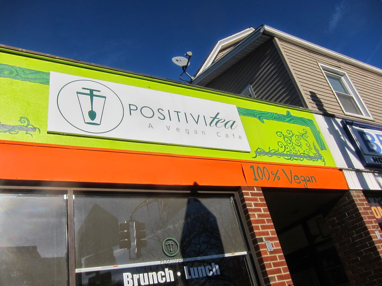 I Recently Traveled To New Jersey Check Out 2 All Vegan Restaurants With My Friend The First Was Positivitea Which Is In Verona Nj