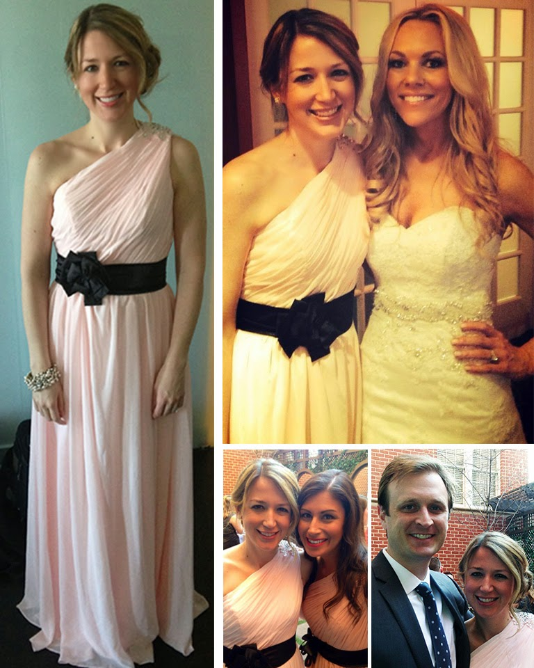 Blush Bridal Party // The Salty Hanger