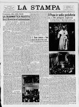 LA STAMPA 28 NOVEMBRE 1938