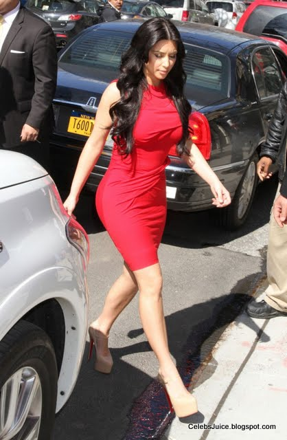 "Kim Kardashian at ""The Wendy Williams Show"" in New York-5"