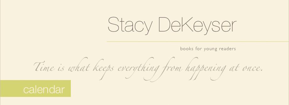 Stacy DeKeyser author calendar