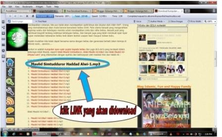 Cara Mendownload Link di Blog Kami...!!
