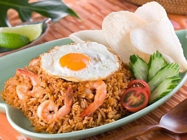nasi goreng ayam, jawa nasi goreng biasa, telur mata sapi, resep nasi goreng, seafood, spesial