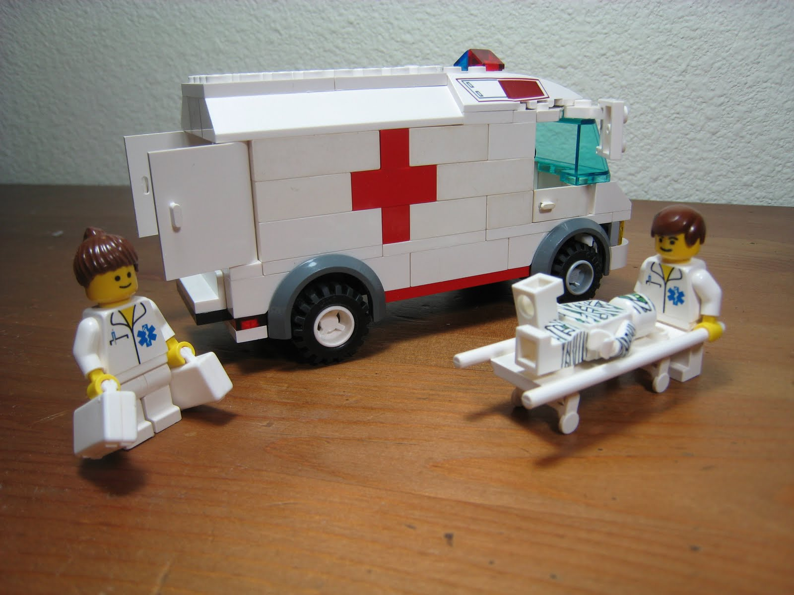 What should medical profession offer to the suffering worst case scenario or a ray of hope - Lego ambulance ...