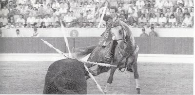 Paulo Caetano num grande ferro, com o Bolero