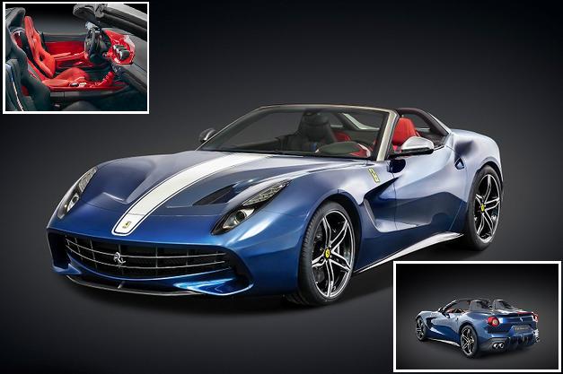 Ferrari F60A edisi terhad hanya 10 unit di Dunia 4 Gambar