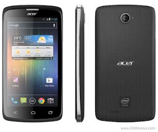 Acer Liquid C1 - Smartphone Berbasis Intel Processor Pertama di Indonesia