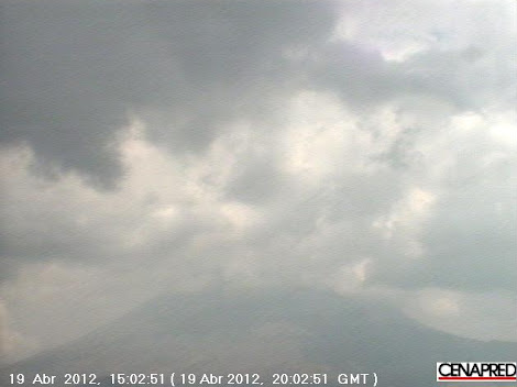 Monitoreo de Volcán Popocatépetl CENAPRED