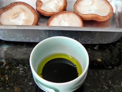 cogumelo assado receita shitake shiitake