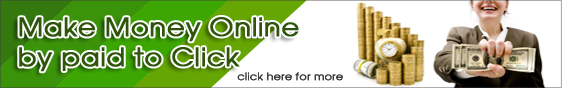 Make money online by Paid to Click