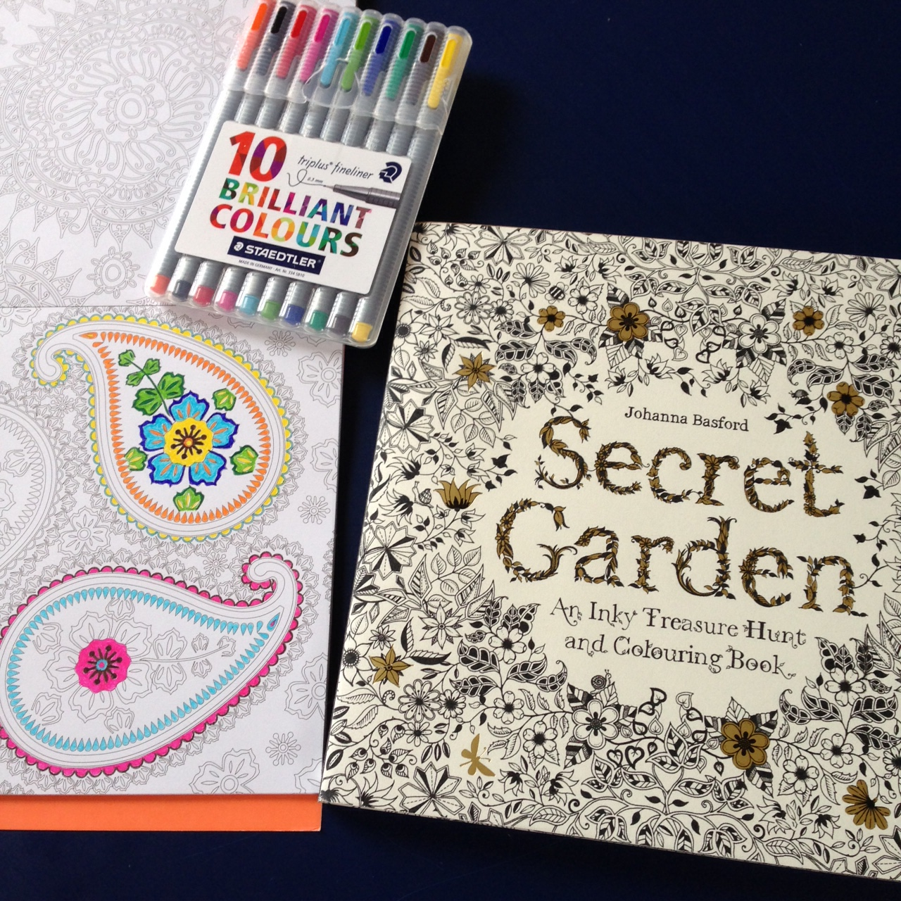 Secret garden colouring in book nz - Wendy S Quilts And More Colouring For Adults