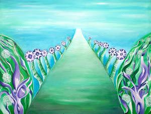 Der Weg ist das Ziel / Künstlerin Heidemarie Rothe