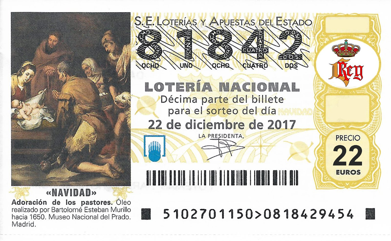 Loteria Navidad 2017