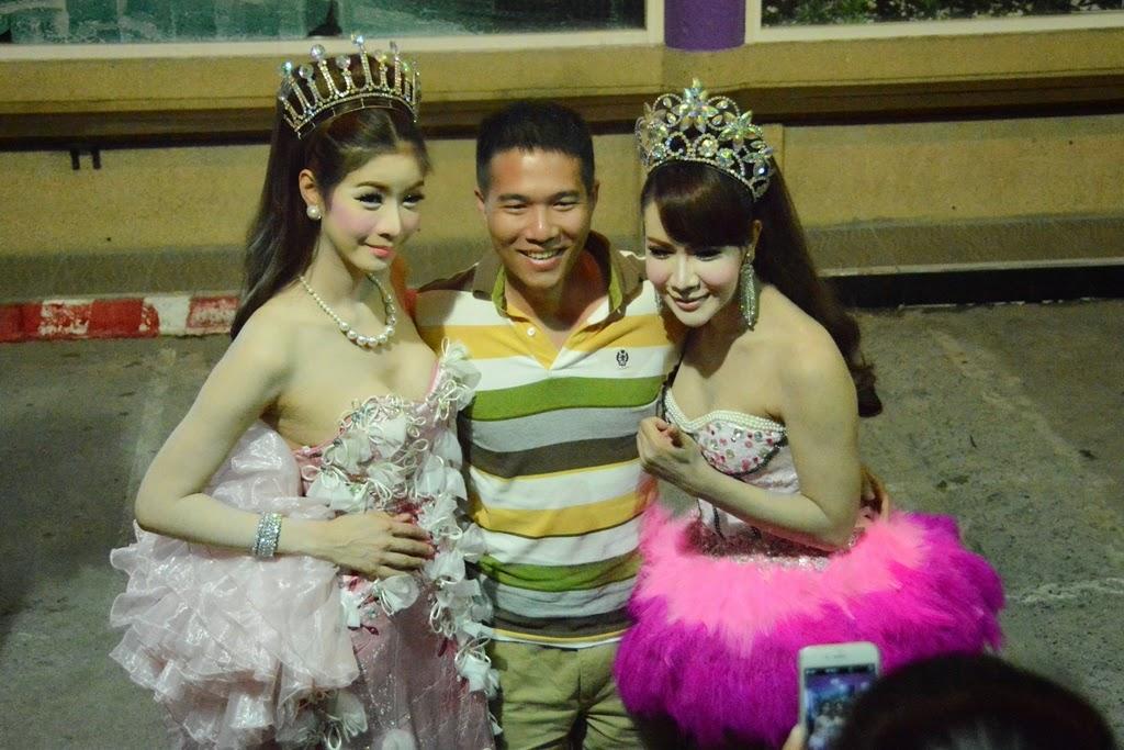 Simon Cabaret Phuket posing
