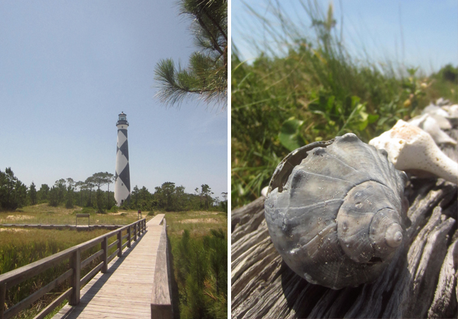 Cape Lookout Visit
