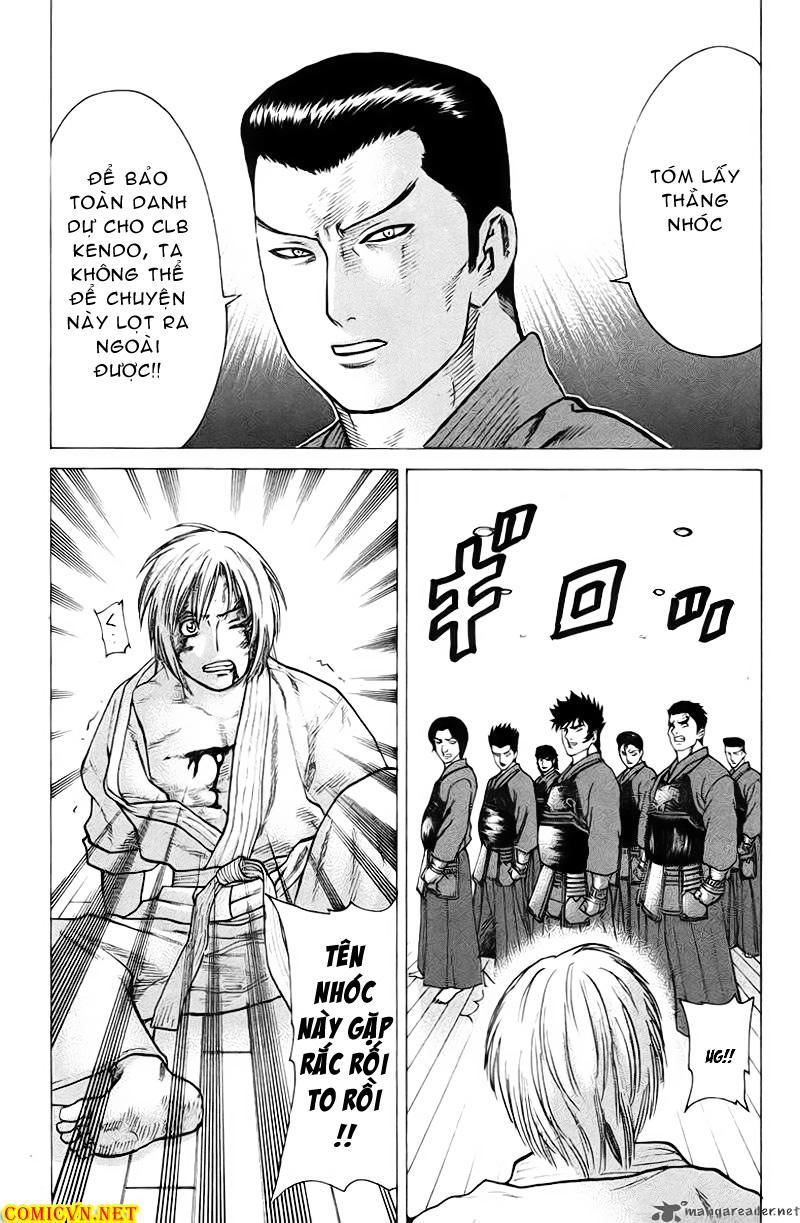 Karate Shoukoushi Kohinata Minoru chap 26 Trang 10