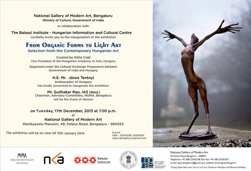 Hungarian Art Exhibition NGMA Bengaluru