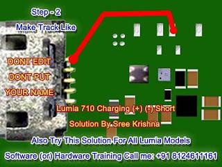 nokia lumia 710 charging jumper