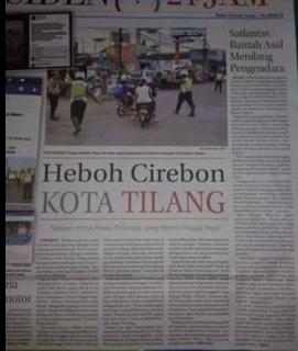 Cirebon Kota Tilangan Oknum Polantas