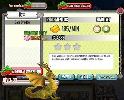Dragão Gaia - Informações
