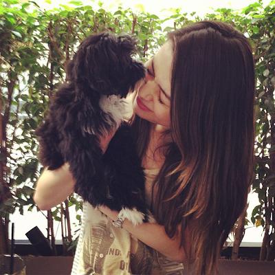 Blog Miranda Cosgrove Penny Penelope Dog Puppy Tierna ShurKonrad