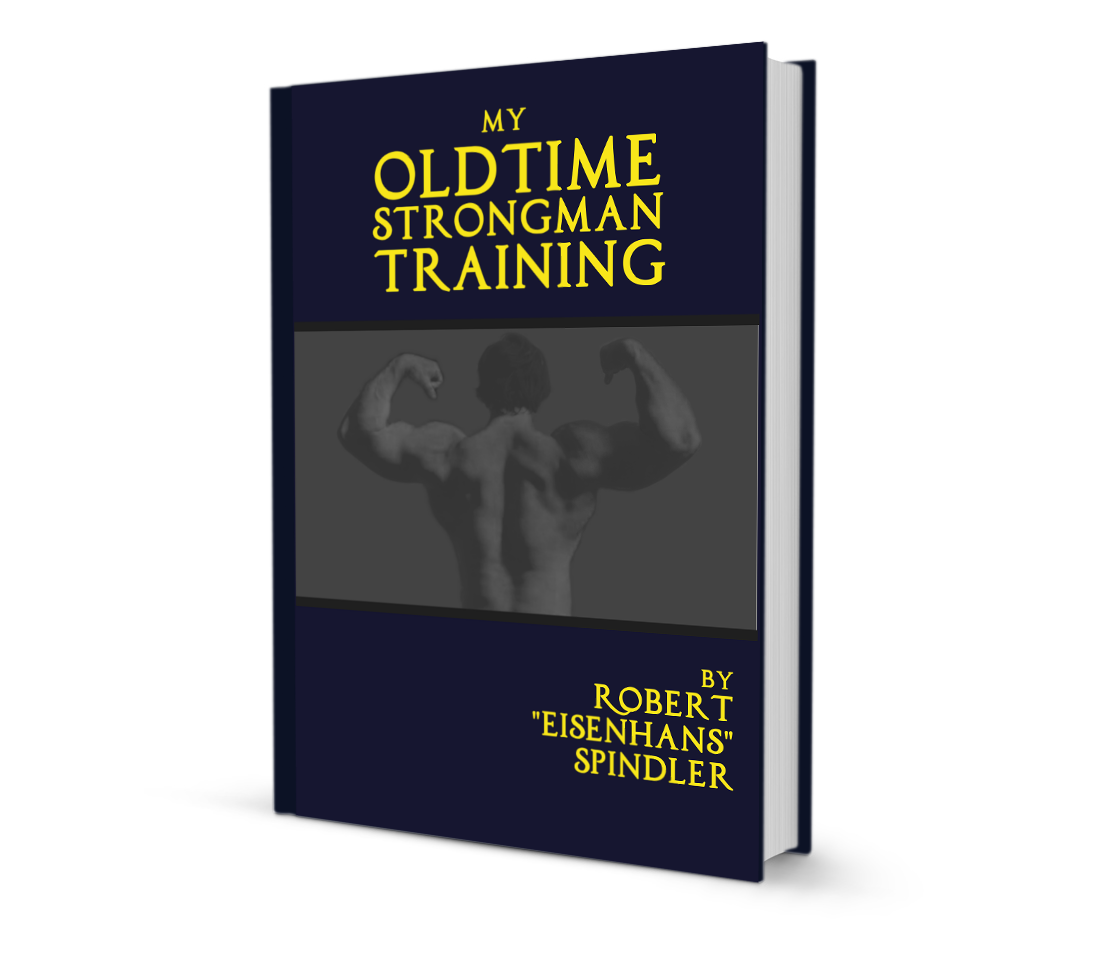 My Oldtime Strongman Training book