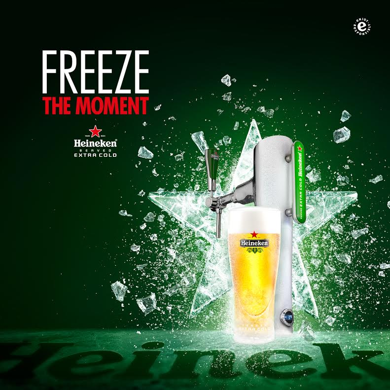 Heineken Extra Cold in Singapore