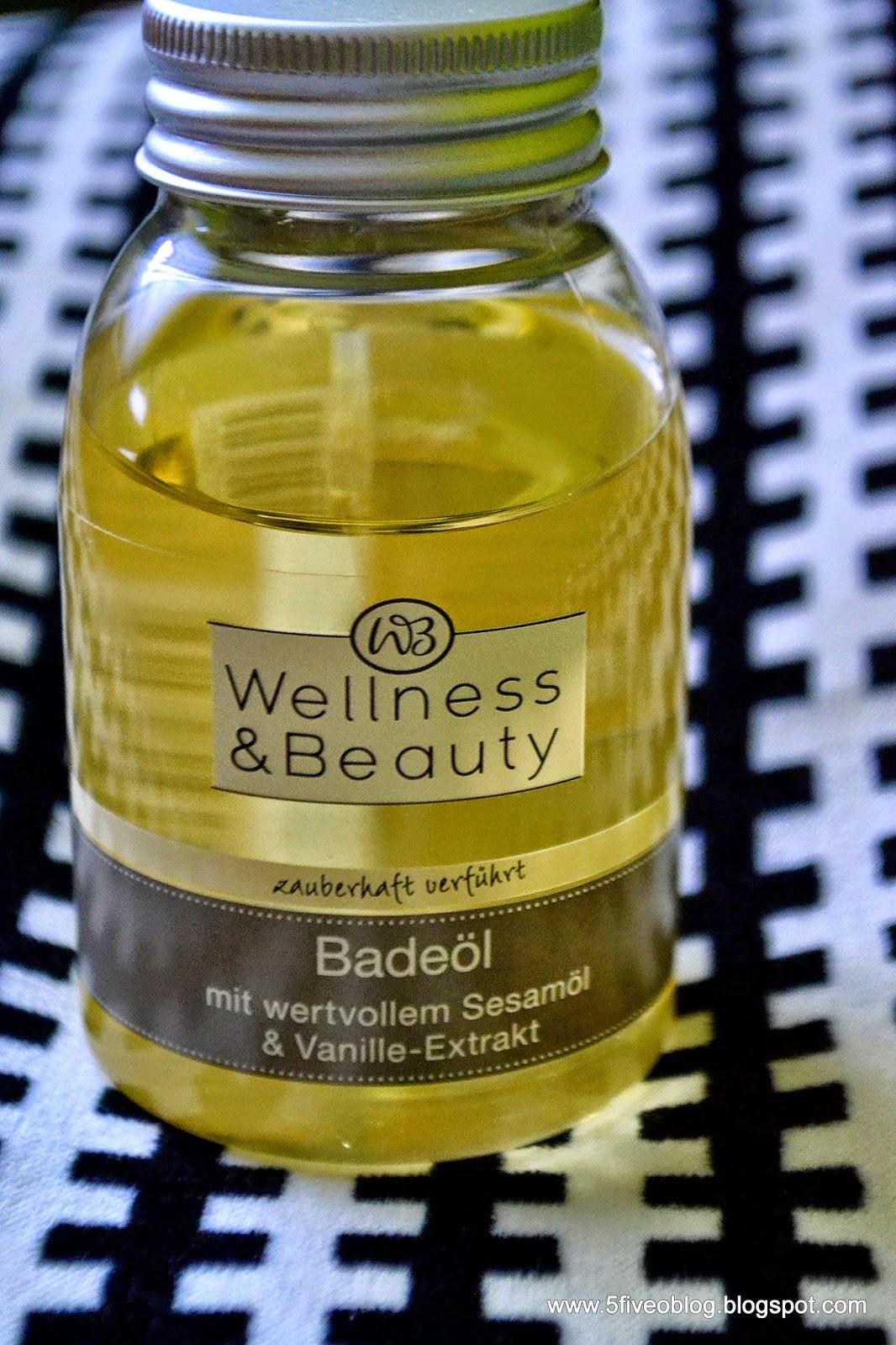 Wallness & Beauty - sezamowy olejek do kąpieli.