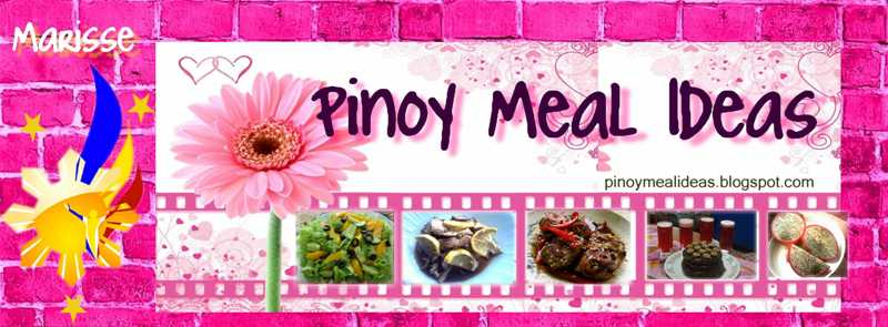 Pinoy Meal Ideas