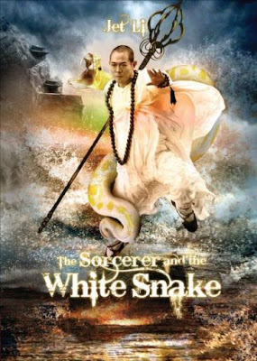 The Sorcerer and the White Snake 2011 Poster