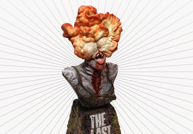 The Last of Us Clicker Bust - Zombie of the Week