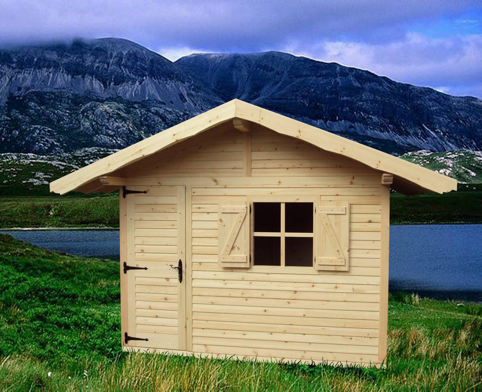 Puertas rusticas de casta o casetas de jardin for Casetas de jardin aki