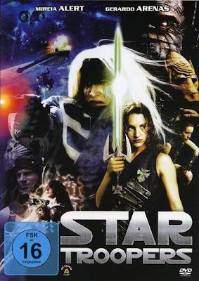star troopers poster cover el baron contra los demonios 2006