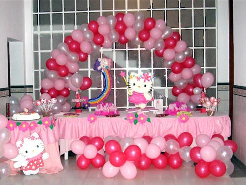 Fiestas infantiles hello kitty parte 1 - Decoracion hello kitty ...