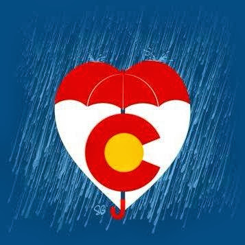 Get well soon Colorado! From Fort Collins, Colorado. www.thebrighterwriter.blogspot.com #mountainstrong #timnath #Boulder #Loveland #fortcollins #2013coloradofloods #coloradofloods