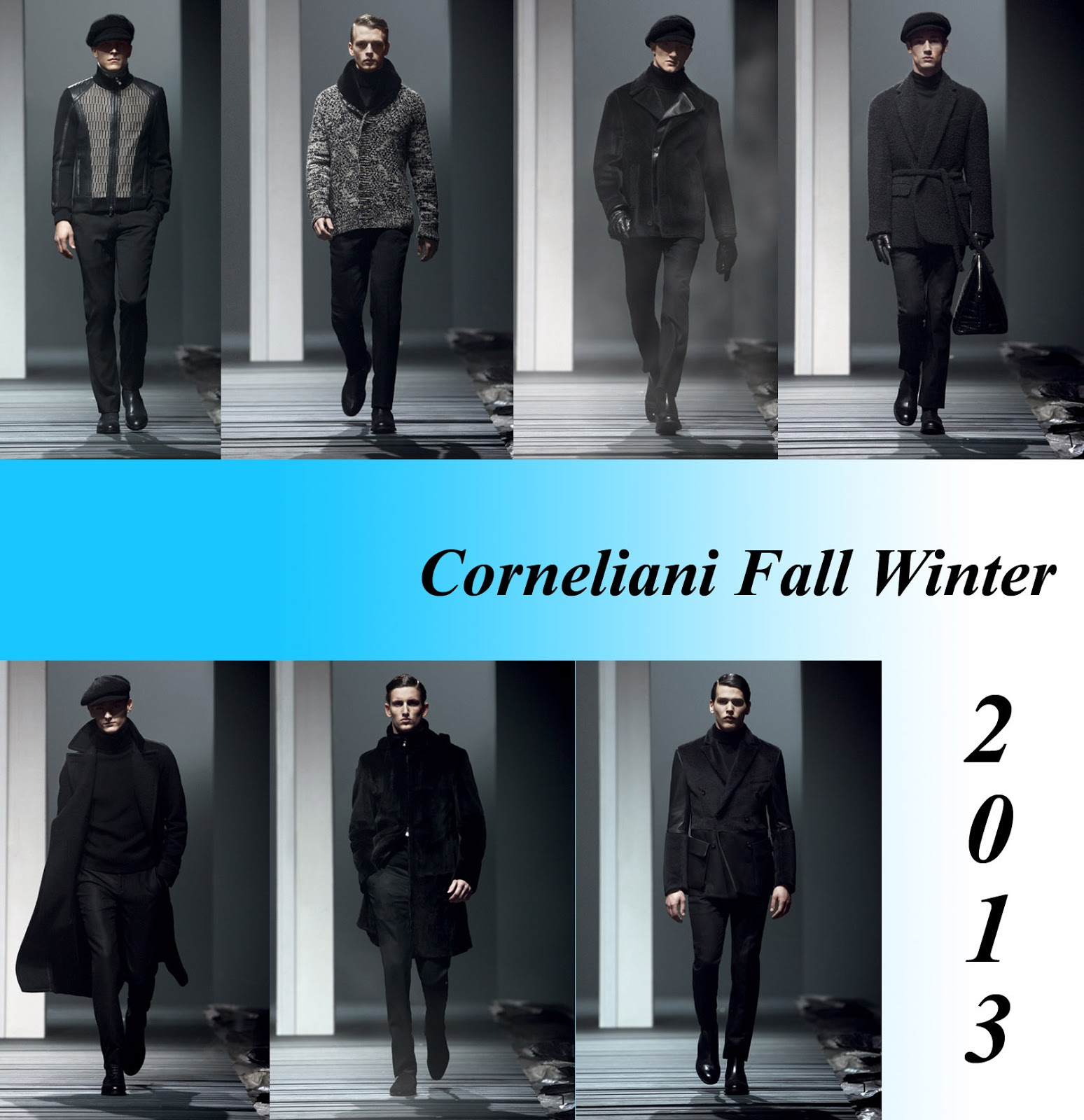 Corneliani fusion fall winter collection 2013 fashion focus to talk about the collection shapes are pared down to the max in the tailored suits with tapered trousers and soft light longer jackets voltagebd Gallery