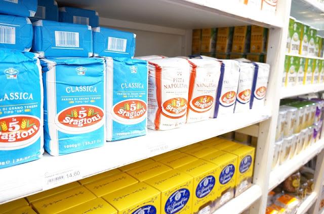 Eataly SP: farinhas diversas.