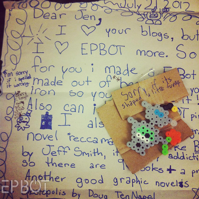 Perler Bead Letters