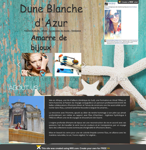 Amarre de bijoux : boutique, point de vente en Bretagne dans le Morbihan - E-shop de bijoux fantaisie fabriqués main, atelier boutique.